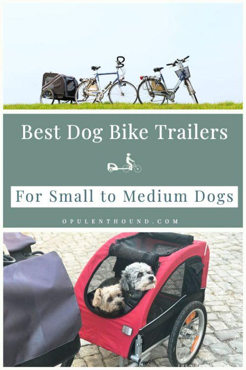 Best small dog bike trailers